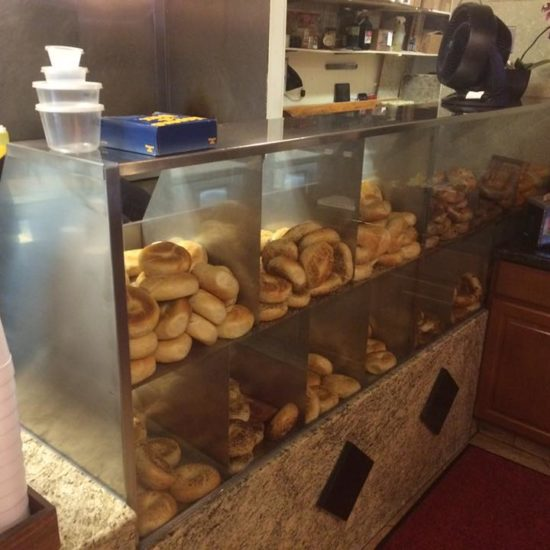 """Hot Bagel"" Display Case"