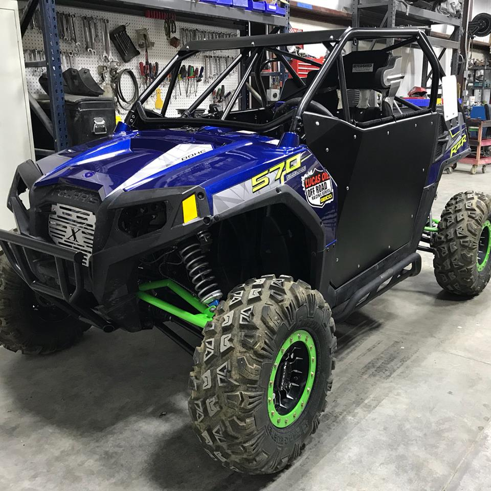 RZR 570 Roll Cage w/Doors | Xtreme Machine & Fabrication