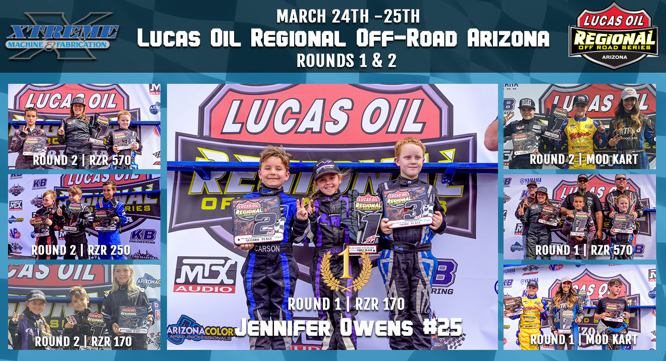 Lucas Oil Regional Off-Road Arizona | Rds 1&2